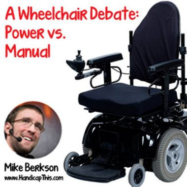Power vs. Manual Wheelchair