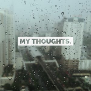 My thoughts - depression is real