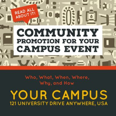 Community Promotion For Your Campus Event
